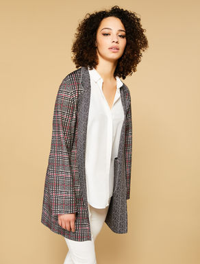 Reversible duster coat