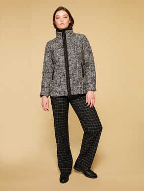 Bouclé padded jacket
