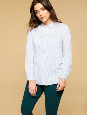 Fluid viscose shirt