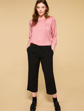 Crepon trousers