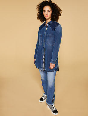 Jeans slim fit in denim leggero