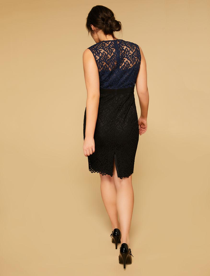 Alençon lace dress
