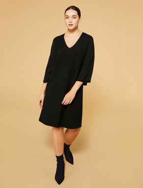Wool-blend dress