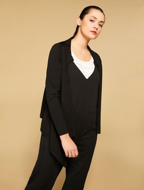 Cardigan en viscose stretch