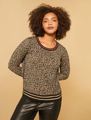 Pullover aus geflecktem Jacquard