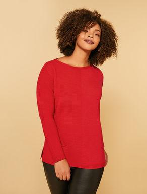 Oversize wool blend sweater