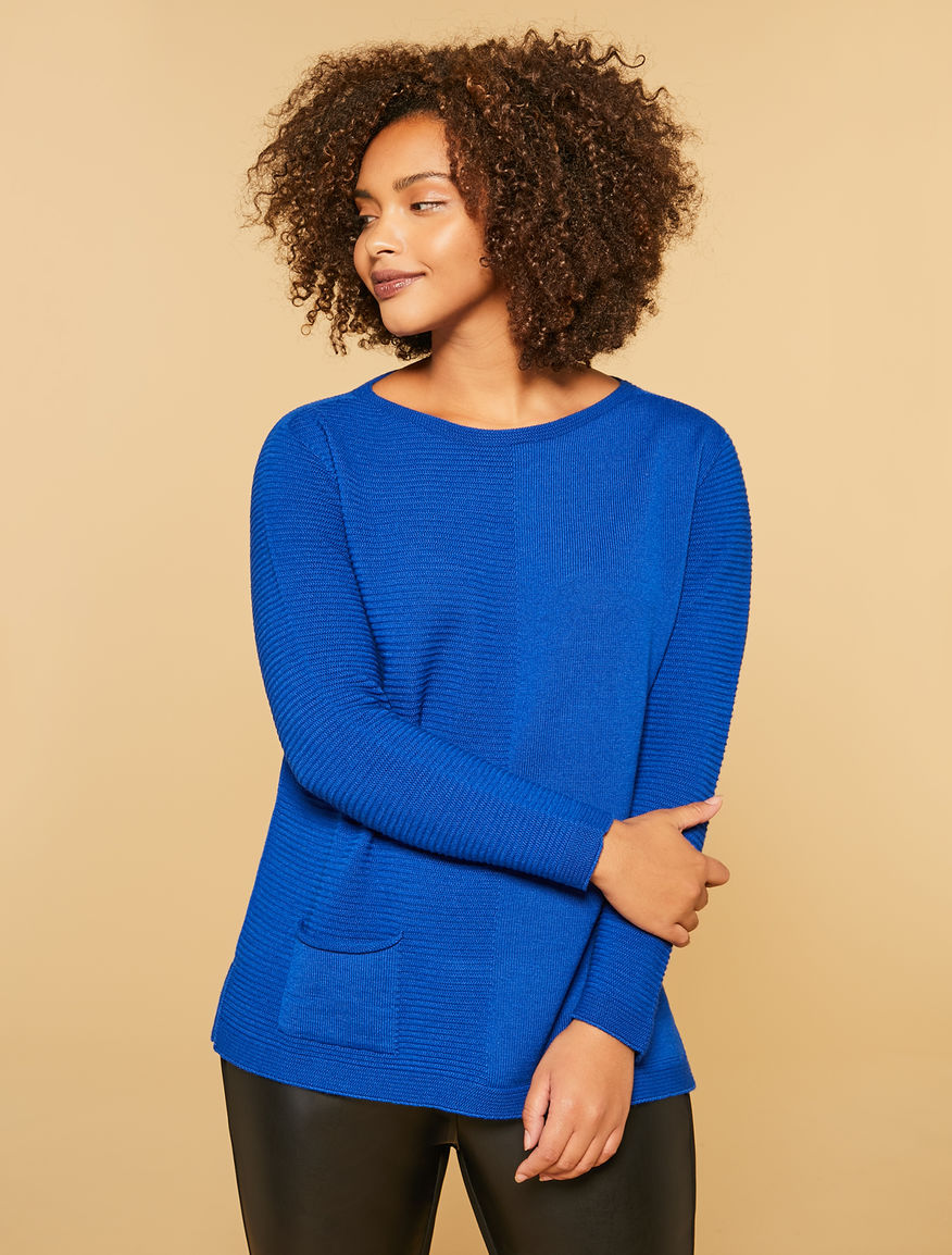 Oversize wool blend sweater