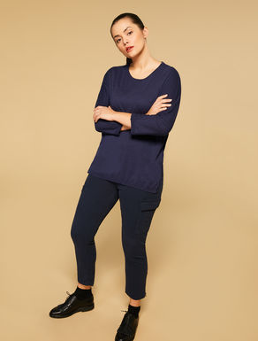 Fluid viscose jumper
