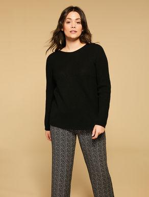 Soft wool-blend jumper