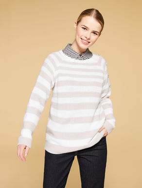 Soft wool-blend jumper
