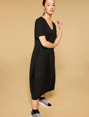 Scuba crepe dress