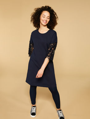 Cotton fleece dress