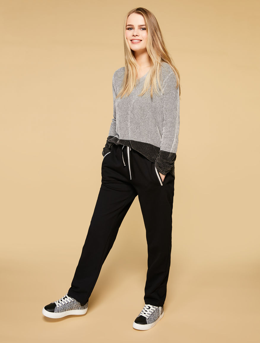 Fleece jogging trousers