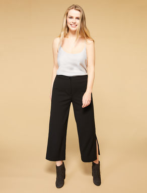 Scuba crepe trousers
