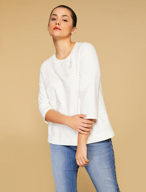Sweat en coton stretch