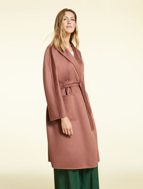 Double cashmere coat