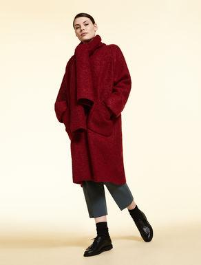 Boucle jersey coat