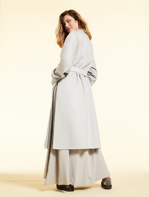 Double-layer cashmere coat
