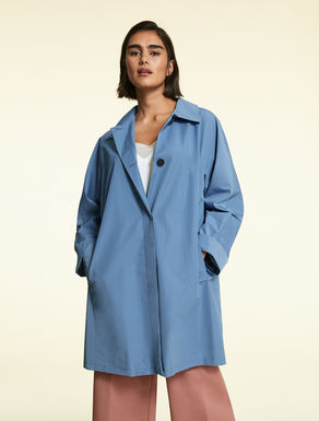 Raincoat in micro-faille