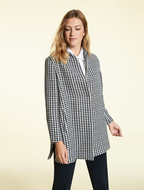 Short jacquard coat