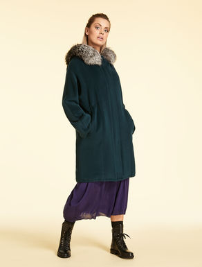 Pure wool parka
