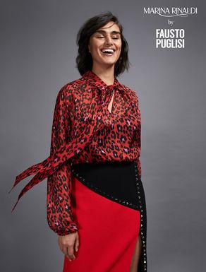 Silk chiffon blouse