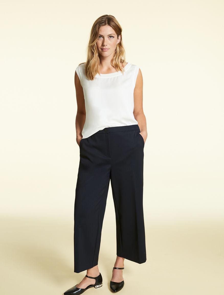Pantaloni in cotone e nylon