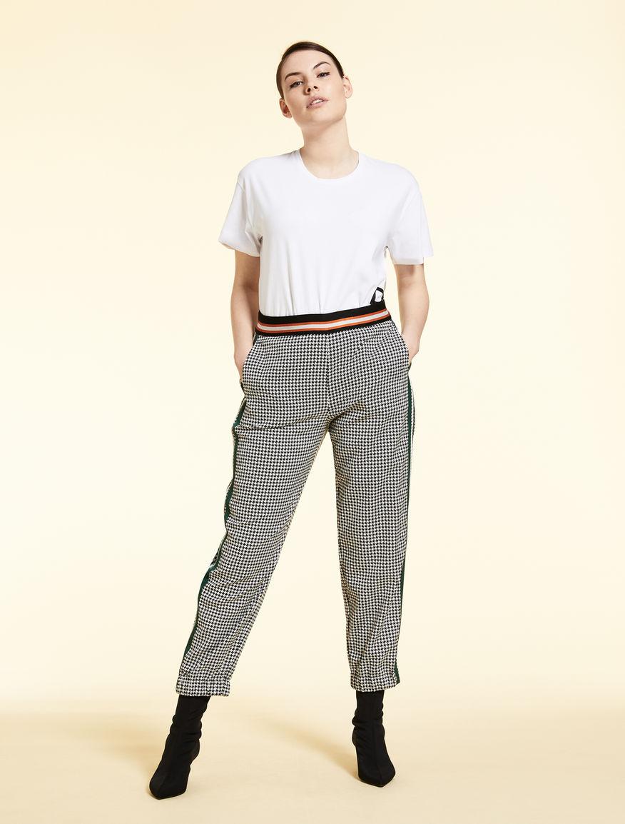 Pantalon jogging jacquard