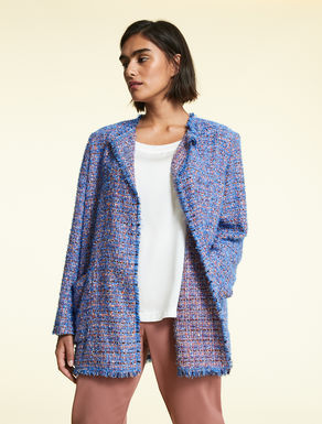 Cotton and Lurex jacket