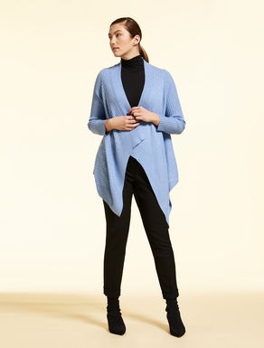 Cashmere-blend cardigan