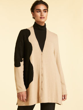 Cardigan aus Cashmere-Mix