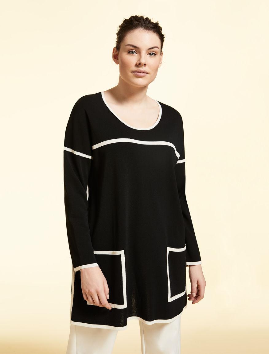 Viscose-blend jumper