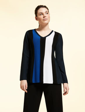 Jumper in matt viscose