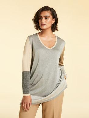 Pullover aus Lurex-Garn