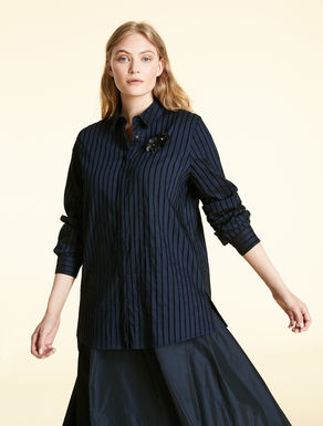 Chenille stripe shirt