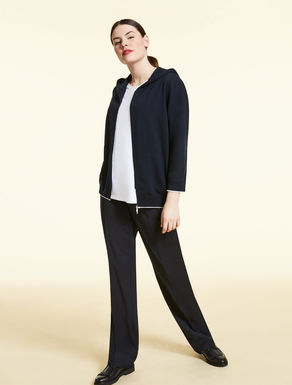 Technical wool trousers