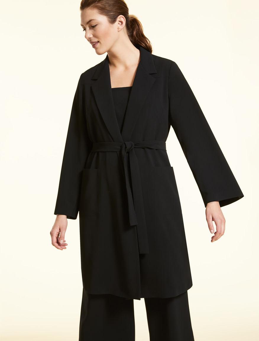 Triacetate duster coat