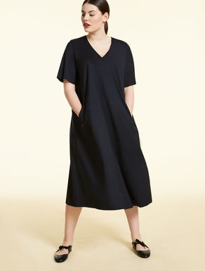 Vestido en lana técnica