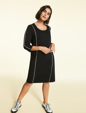 Knitted sheath dress