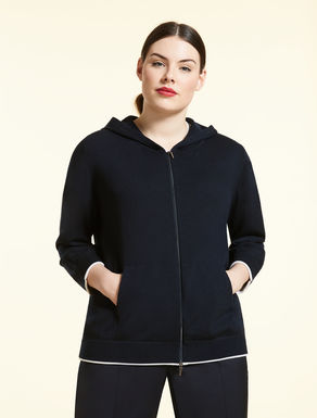 Pure wool sweatshirt
