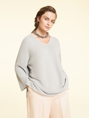 Cotton and Lurex sweater