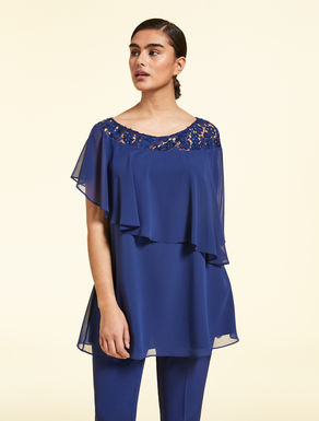 Top in georgette