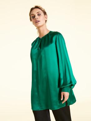 Silk satin blouse