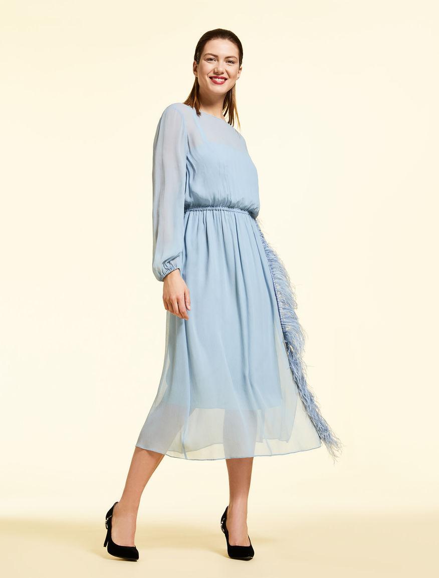 Creponne-Kleid
