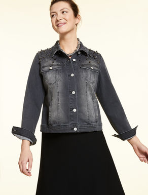 Jacke aus Denim-Stretch