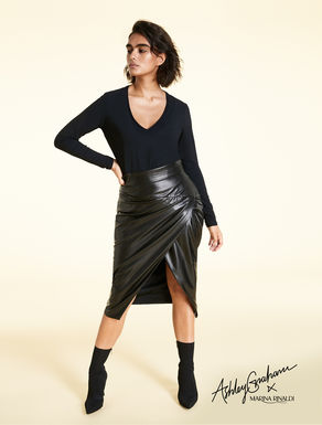 Smear-effect skirt
