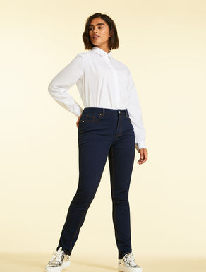 Jeans Wonder Fit aus Denim-Jersey