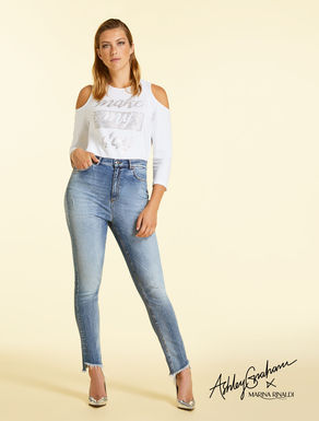 Jeans aus Denim mit Super-Stretch