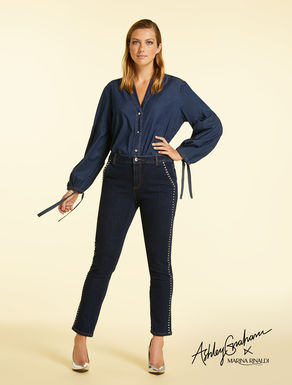 Jean en denim bistretch