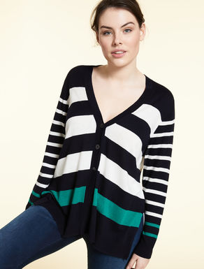 Fluid viscose cardigan